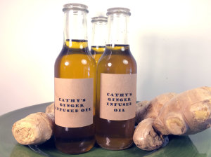 Cathy's ginger infused oil